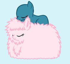 Fluffle Snooze by BatmanBrony on DeviantArt