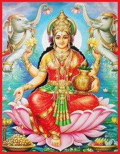 Approximately 900 million people practice Hinduism throughout the world. It is the main religion of India, and a major world religion. The word Hindu is a Sanskrit word referring to the Indus River. There are several different sects. Indian Goddess, Goddess Lakshmi, Tanjore Painting, Krishna Painting, Lakshmi Images, Ganesh Images, Hindu Deities, World Religions, Gods And Goddesses