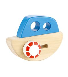 Little Ship From Hape from The Wooden Toybox