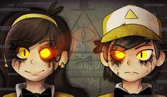 mystery twins by atachi00.deviantart.com on @deviantART