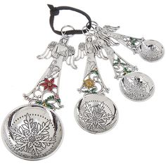 Ganz Measuring Spoons - Christmas Angels with Color $19.95