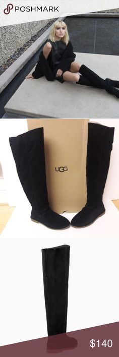 I just added this listing on Poshmark: New UGG Over the knee boots Size Ugg Sale, Uggs On Sale, Fashion Design, Fashion Tips, Fashion Trends, Over The Knee Boots, Black Suede, Skirts, Leather