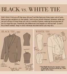 Guide to suits part 6