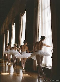 My all time favorite picture of ballerinas.