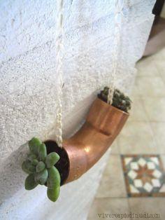 Urban Jungle Bloggers: Hanging planters by Vivere a piedi nudi Living