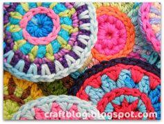 Handmade zateyki: Crochet circles / Crochet circles