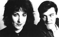 Gillian Gilbert and Stephen Morris of the Other Two & New Order