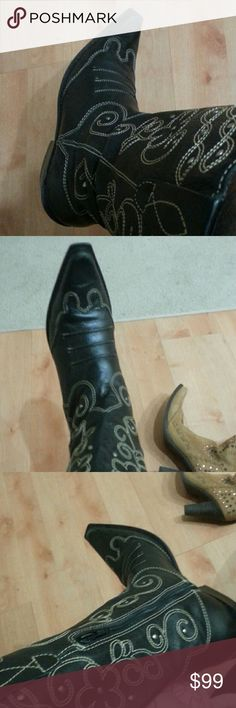 Matisse cowboys boots Made in Brazil excellent brand new condition leather boots cowboy heel they are absolutely stunning I don't know why I'm getting rid of them matisse Shoes Ankle Boots & Booties