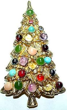 Designer Christmas Trees - Swoboda, Kirk's Folly, Christopher Radko, LIA, Attruia