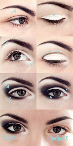 black & white eyeshadow love this look!www.marykay.com.mx/almareza #marykaydfsur Facebook/Ilumina tu Belleza con Mary Kay