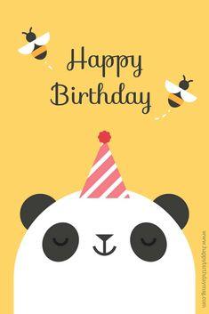 Happy Birthday - Happy Birthday Funny - Funny Birthday meme - - Cute birthday koala and bees. The post Happy Birthday appeared first on Gag Dad. Happy Birthday Kind, Birthday Greetings For Kids, Birthday Wishes For Kids, Funny Happy Birthday Pictures, Birthday Wishes Quotes, Happy Birthday Messages, Funny Birthday, Birthday Woman, Birthday Ideas