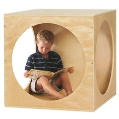 The perfect playtime hideaway The Playhouse Cube stimulates children's imaginations while providing them with a cozy place to play. Whether your children use it as a reading nook or transform it into