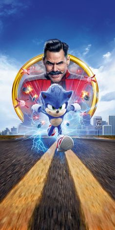 Sonic The Hedgehog, movie, wallpaper Sonic The Hedgehog, Hedgehog Movie, Best Iphone Wallpapers, Movie Wallpapers, 2020 Movies, Hd Movies, Jim Carrey, Live Action, Sonic The Movie