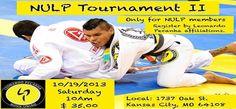 NULP Tournament on 19 October in Kansas City, Missouri