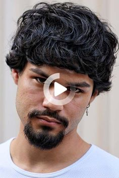 Curly hairstyles for men with short, medium and long locks. Manage and style your curls with the ultimate collection of the best haircuts #bestcurlyhairstyles