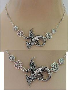 Silver Dragon Strand Necklace Jewelry Handmade NEW adjustable Accessories Chain #Handmade #Pendant http://www.ebay.com/itm/Silver-Dragon-Strand-Necklace-Jewelry-Handmade-NEW-adjustable-Accessories-Chain-/152549818123?ssPageName=STRK:MESE:IT