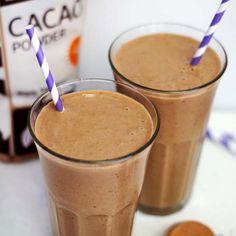 Chocolate Coconut Milkshake (Vegan) « Detoxinista