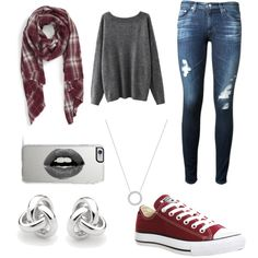 A fashion look from November 2015 featuring AG Adriano Goldschmied jeans, Converse sneakers and Michael Kors necklaces. Browse and shop related looks.
