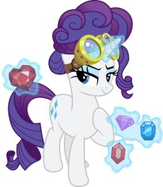Rarity the Jewel Thief by TheShadowStone on deviantART