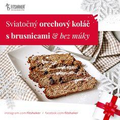 Koláčik je vhodný jednak na vianočné sviatky, no pokojne aj počas roka ako chutné raňajky či desiata ku kávičke. Bread, Fit, Recipes, Shape, Brot, Recipies, Baking, Breads, Ripped Recipes