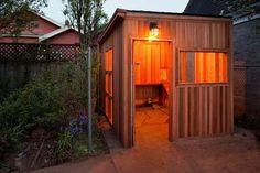 Cedar Chicken Coop