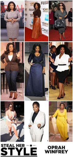 Oprah Winfrey {Steal Her Style} #plus #size ...
