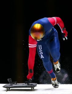 John Daly of the United States in The Most Badass Sport At Sochi 2014 Olympic Sports, Olympic Team, Skeleton Photo, Skeleton Bob, John Daly, American Athletes, Luge, Play Soccer, Basketball