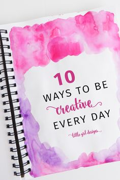 I want to be more creative this year, and am bookmarking this post because I need to hear it daily! I'm taking baby steps to being more creative every day and my family wants to thank you. Creative Crafts, Easy Crafts, Creative Skills, Creative Art, Trending Crafts, Art Journal Techniques, Creativity Quotes, All Things Cute, Business Quotes