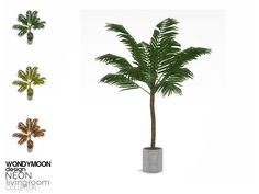 - Neon Livingroom Decorations - Plant  Found in TSR Category 'Sims 4 Plants'