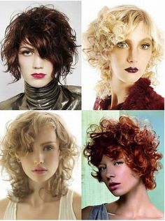 Various Short Curly Hairstyles for Women and Men: Short Curly Layered Hairstyles Hipsterwall ~ frauenfrisur.com Hairstyles Inspiration