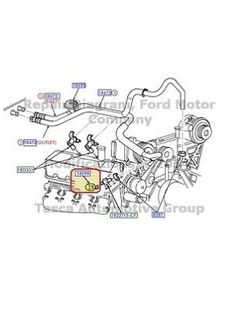 cool 95-97 Ford F-150 250 350 HVAC Heater Core Vent Box