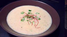 Chicoree-Suppe mit roten Linsen