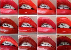 LipSense Color Photos, Central Florida Brevard, Melbourne & Orlando