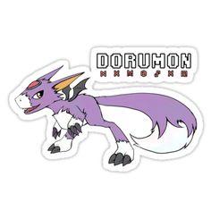 ====== Merch for Sale ====== Digimon - Dorumon by Kaiserin