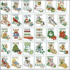 Tiny Cross Stitch, Cross Stitch Tree, Counted Cross Stitch Patterns, Cross Stitch Designs, Cross Stitch Embroidery, Cross Stitch Christmas Stockings, Cross Stitch Stocking, Christmas Cross, Embroidery Stitches