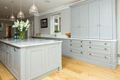 Grey & White Shaker Kitchen