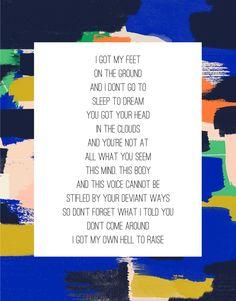 Sleep to Dream - Fiona Apple