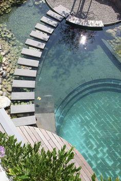 Diferentes tipos de piscinas