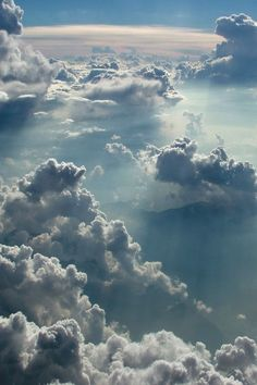 A view from above the clouds. Cloud Wallpaper, Sunset Wallpaper, Nature Wallpaper, Wallpaper Backgrounds, Iphone Wallpapers, Phone Backgrounds, Above The Clouds, Sky And Clouds, Storm Clouds