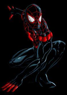 #Ultimate #Spiderman #Miles #Morales. (Miles Morales Ultimate Spider-Man) By: Dwayne Biddix. (THE * 5 * STÅR * ÅWARD * OF: * AW YEAH, IT'S MAJOR ÅWESOMENESS!!!™)[THANK Ü 4 PINNING!!!<·><]<©>ÅÅÅ+(OB4E)                          https://s-media-cache-ak0.pinimg.com/474x/6b/a4/2a/6ba42ad7b2ba711577f3245c2f791125.jpg