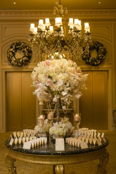 Place card table of royalty!