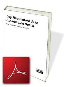 Ley Reguladora de la Jurisdicción Social - PDF Occupational Therapy, Perception, Memories, Learning, Books, Html, Socialism, School