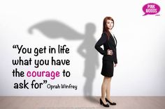 This courage quote reminds us that we should not fear trying to get the most out of life, life is waiting for us we just have to have the courage to aim high. To join our inspiring club with empowering tools & community to help you get the most out of life click the image.