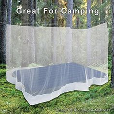 $15 || Amazon prime || Premium Mosquito Net for Double Bed, crib, hammock or cam...
