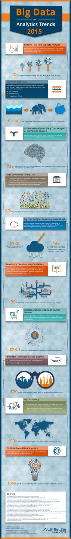 Big Data and Analytics Trends 2015 [Infographic] - B2B Infographics | The Marketing Technology Alert | Scoop.it