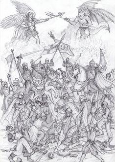 Crusader Battle by dashinvaine on DeviantArt