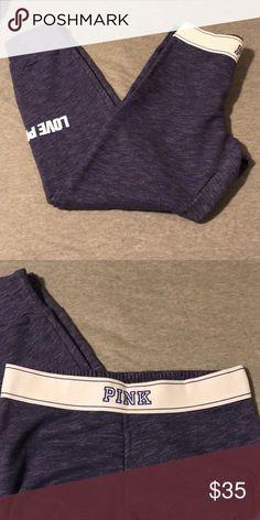 Joggers VS joggers, elastic band PINK Victoria's Secret Pants Track Pants & Joggers