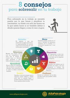 Hola: Una infografía con 8 consejos para sobresalir en tu trabajo. Vía Un saludo