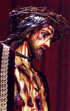 """Ah, my Supreme Good. What were the sentiments of your Sacred Heart when You were scourged? My beloved Spouse, how greatly did the sight of my grievous sins and my ingratitude afflict You! Oh, my only Love, why do I not die for You? Why am I not overwhelmed with sorrow? - St. Paul of the Cross"