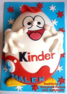 KINDER EGG CAKE עוגת ביצת קינדר